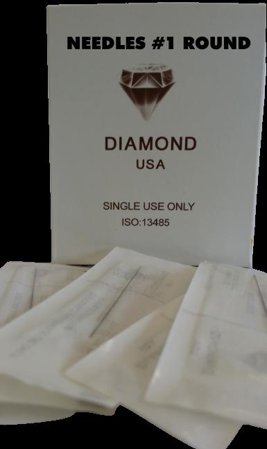 0015 Needle #1R (Box of 50pcs) $20
