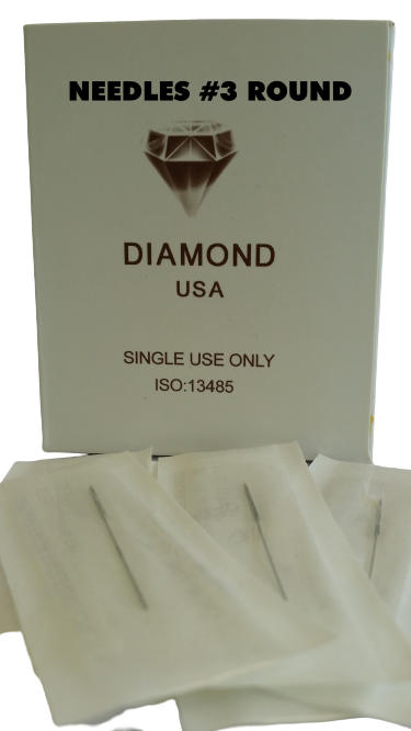 0017 Needle #3R (Box of 50pcs) $45