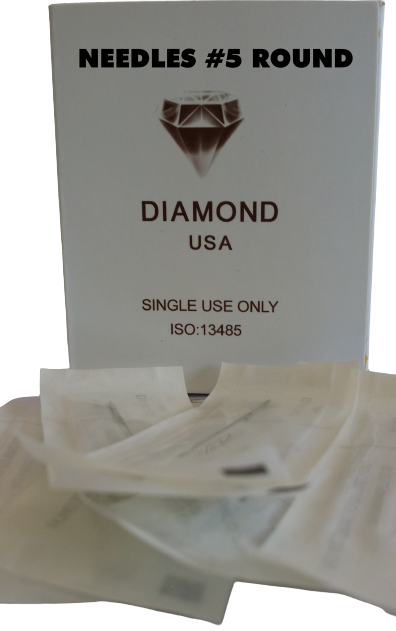 0019 Needle #5R (Box of 50pcs) $55