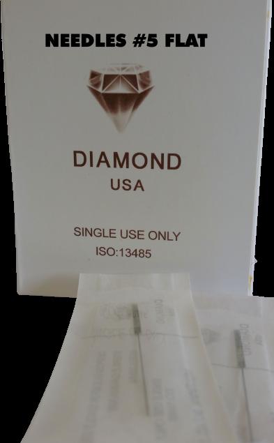 0021 Needle #5F (Box of 50pcs) $55