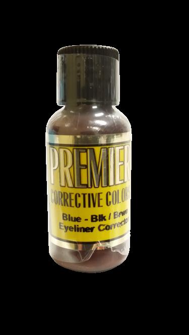 Cor19 Blue-Black Brown Eyeliner Correction